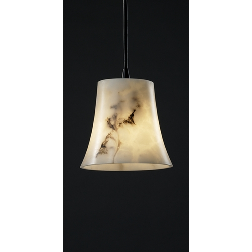 Justice Design Group Justice Design Group Lumenaria Collection Mini-Pendant Light FAL-8816-20-MBLK