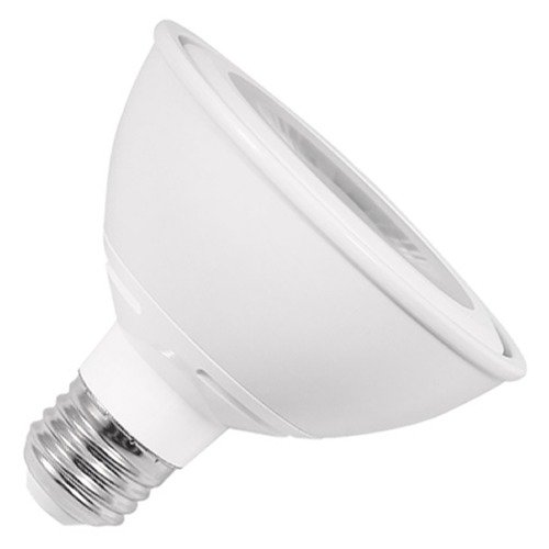 Ushio Lighting 10W Medium Base LED Bulb PAR30 Flood 40 Degree Beam Spread 800LM 3000K Dimmable 1003967