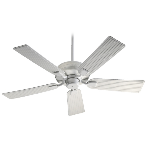 Quorum Lighting Quorum Lighting Marsden Studio White Ceiling Fan Without Light 139525-8