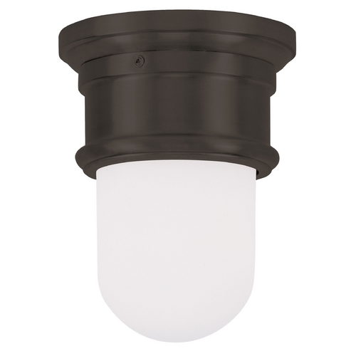 Livex Lighting Livex Lighting Astor Bronze Flushmount Light 7340-07