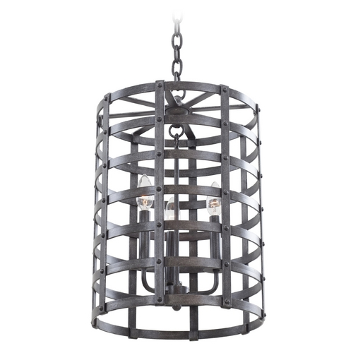 Kalco Lighting Kalco Lighting Townsend Vintage Iron Pendant Light 7403VI