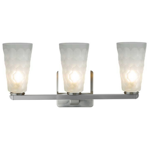 Oggetti Lighting Oggetti Lighting Oasis Satin Nickel Bathroom Light 29-5543G