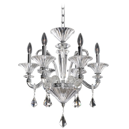 Allegri Lighting Allegri Chauvet 6-Light Chandelier in Polished Chrome 026950-010-FR001