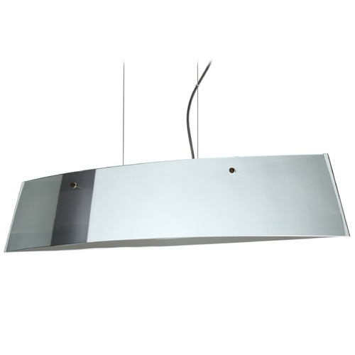 Besa Lighting Besa Lighting Silhouette Bronze LED Island Light with Rectangle Shade LS4-4455MR-LED-BR