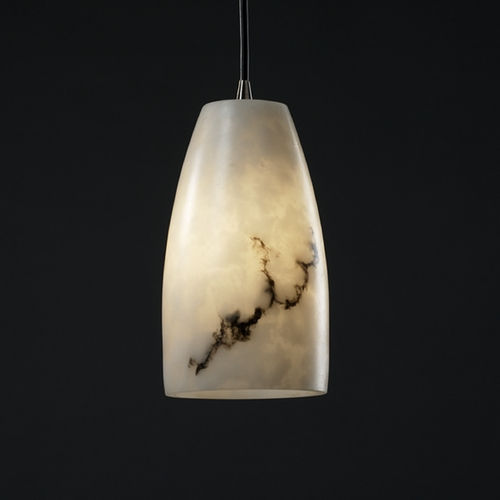 Justice Design Group Justice Design Group Lumenaria Collection Mini-Pendant Light FAL-8816-28-ABRS