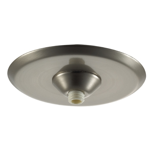 WAC Lighting Wac Lighting Brushed Nickel Ceiling Adaptor QMP-MI-TR-BN
