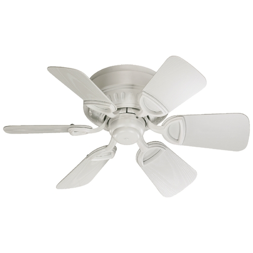 Quorum Lighting Quorum Lighting Medallion Patio Studio White Ceiling Fan Without Light 151306-8