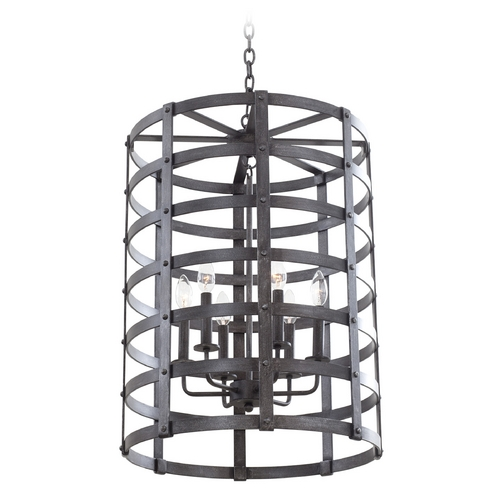 Kalco Lighting Kalco Lighting Townsend Vintage Iron Pendant Light 7404VI