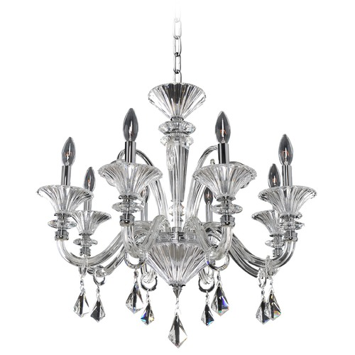 Allegri Lighting Chauvet 8 Light Crystal Chandelier 026951-010-FR001