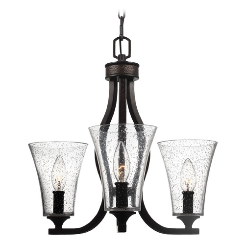 Feiss Lighting Feiss Lighting Marteau Oil Rubbed Bronze Mini-Chandelier F3111/3ORB