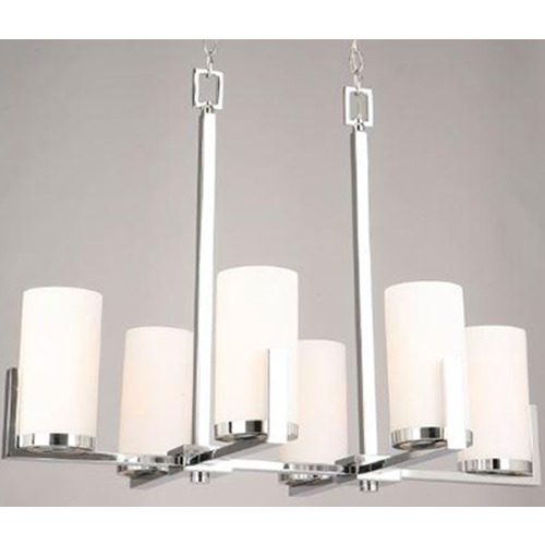 Lite Source Lighting Lite Source Caesarea Chrome Chandelier LS-18811