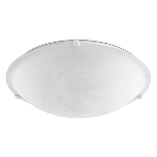 Quorum Lighting Quorum Lighting White Flushmount Light 3000-20-6