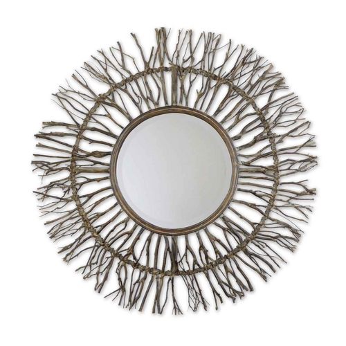 Uttermost Lighting Round 38.25-Inch Mirror 13705