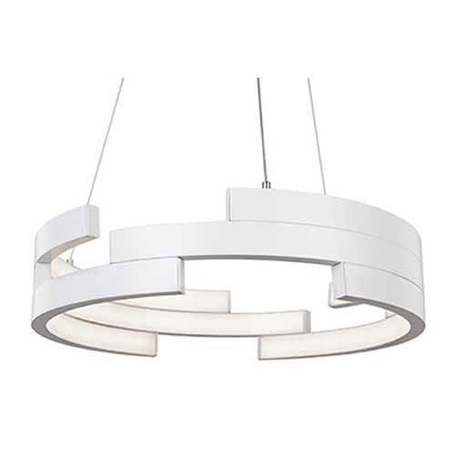 Kuzco Lighting White LED Pendant Light by Kuzco Lighting PD12722