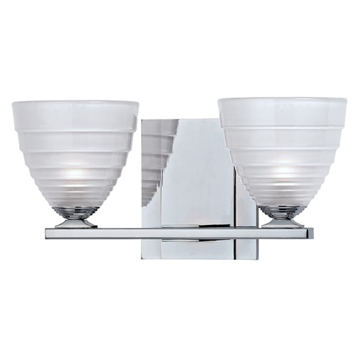 Hudson Valley Lighting Slaton 2 Light Bathroom Light - Polished Chrome 1442-PC