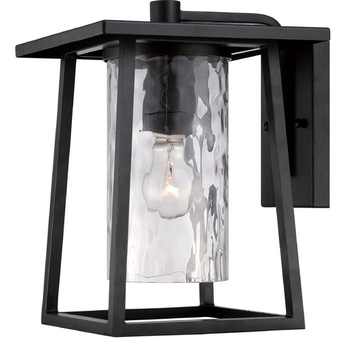 Quoizel Lighting Quoizel Lodge Mystic Black Outdoor Wall Light LDG8409KFL