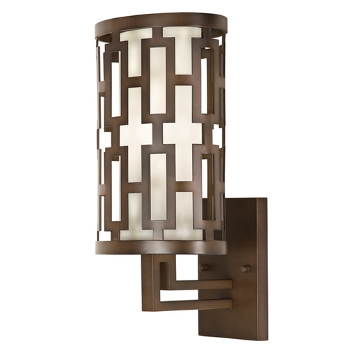 Fine Art Lamps Fine Art Lamps River Oaks Dark Bronze Outdoor Wall Light 843481ST