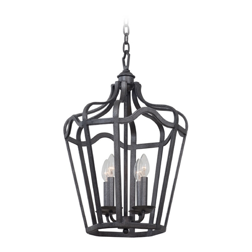 Kalco Lighting Kalco Lighting Livingston Charcoal Pendant Light 7414CL