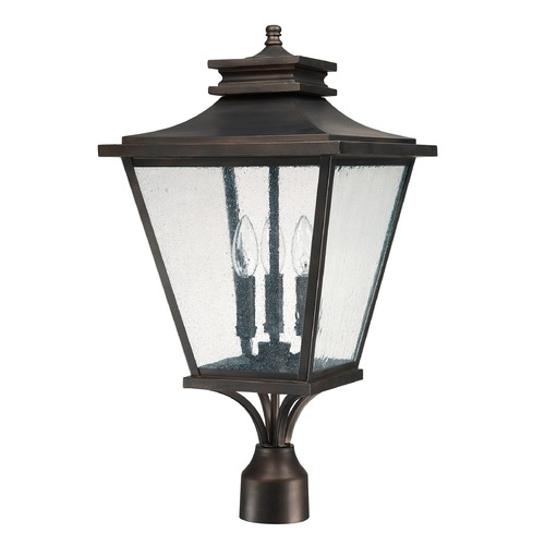 Capital Lighting Capital Lighting Gentry Old Bronze Post Light 9466OB