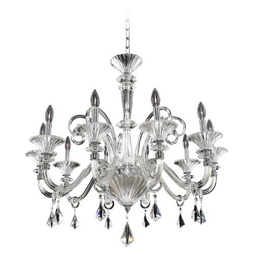 Allegri Lighting Chauvet 10 Light Crystal Chandelier 026952-010-FR001