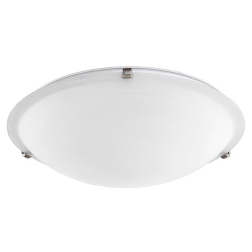 Quorum Lighting Quorum Lighting Satin Nickel Flushmount Light 3000-20-65