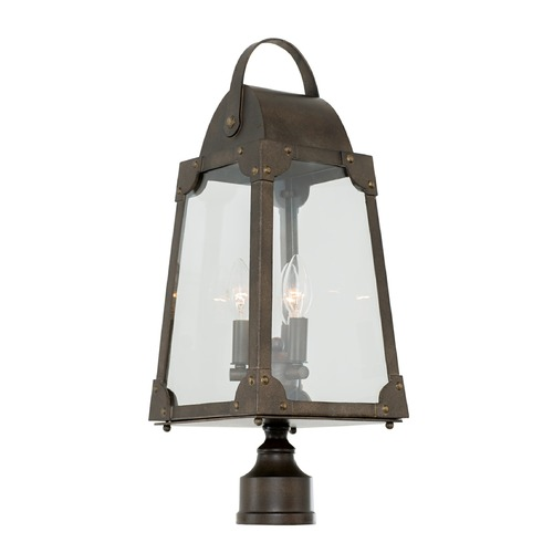 Kalco Lighting Kalco Arlington Aged Bronze Post Light 403700AGB