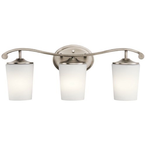 Kichler Lighting Kichler Lighting Versailles Antique Pewter Bathroom Light 45597AP