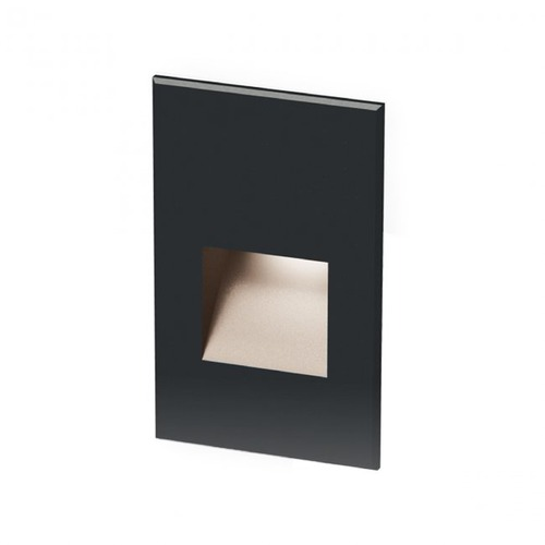 WAC Lighting LED 12V LEDme Vertical Step and Wall Light 4021-30BK