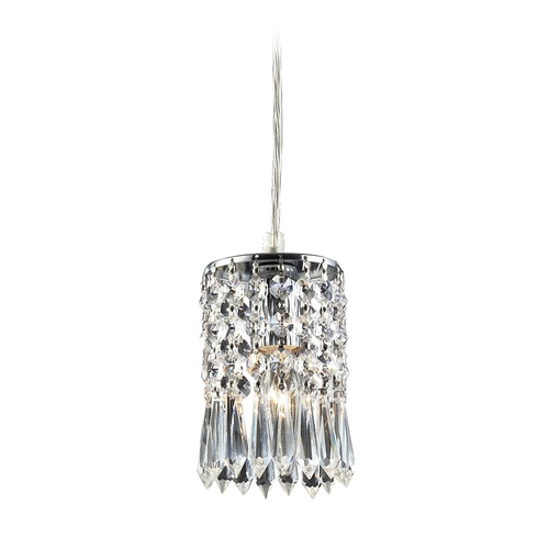 Elk Lighting Modern Mini-Pendant Light with Clear Glass 2997/1A