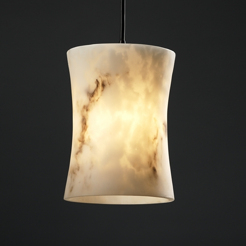 Justice Design Group Justice Design Group Lumenaria Collection Mini-Pendant Light FAL-8816-60-DBRZ