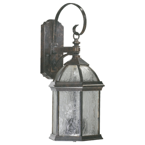 Quorum Lighting Quorum Lighting Weston Baltic Granite Outdoor Wall Light 7817-3-45