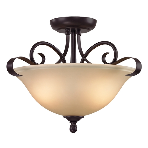 Cornerstone Lighting Cornerstone Lighting Brighton Oil Rubbed Bronze Pendant Light 1002CS/10