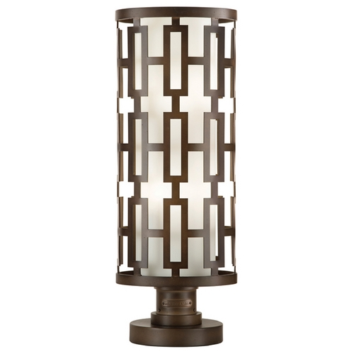 Fine Art Lamps Fine Art Lamps River Oaks Dark Bronze Post Lighting 838880ST