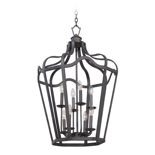 Kalco Lighting Kalco Lighting Livingston Charcoal Pendant Light 7415CL