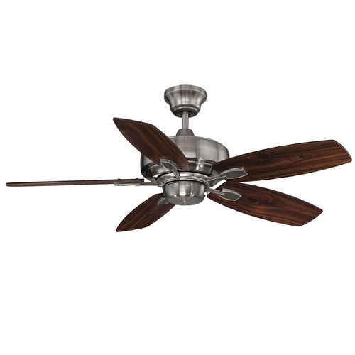 Savoy House Savoy House Brushed Pewter Ceiling Fan Without Light 42-830-5RV-187