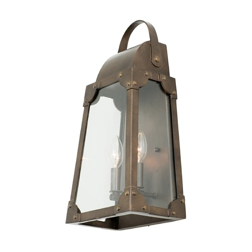 Kalco Lighting Kalco Arlington Aged Bronze Outdoor Wall Light 403720AGB