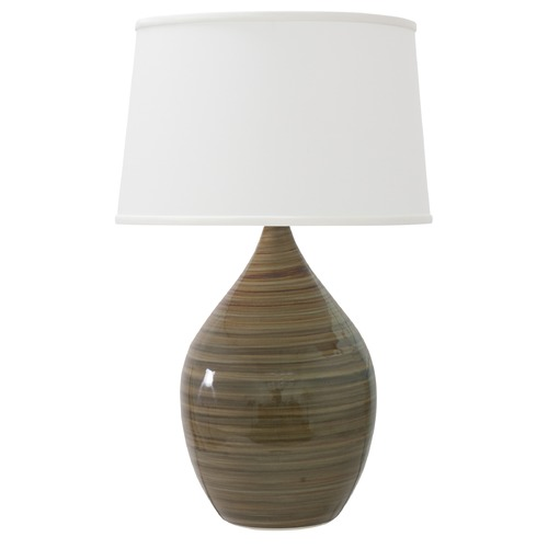 House of Troy Lighting House Of Troy Scatchard Tigers Eye Table Lamp with Empire Shade GS302-TE