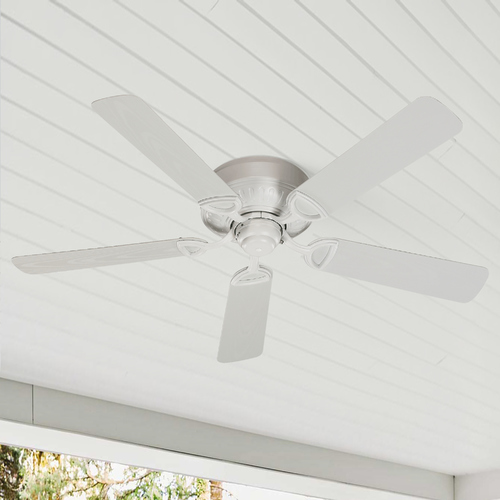 Quorum Lighting Quorum Lighting Medallion Patio Studio White Ceiling Fan Without Light 151525-8