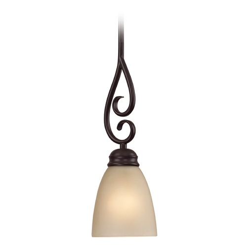 Cornerstone Lighting Cornerstone Lighting Chatham Oil Rubbed Bronze Mini-Pendant Light 1101PS/10