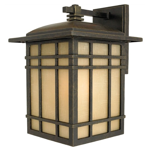 Quoizel Lighting Quoizel Hillcrest Imperial Bronze Outdoor Wall Light HC8509IBFL