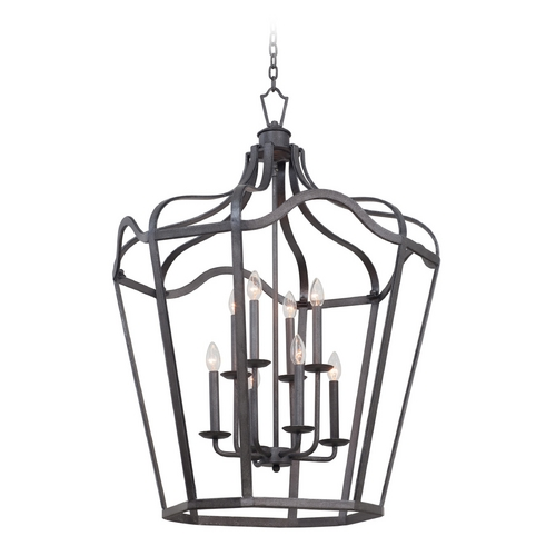 Kalco Lighting Kalco Lighting Livingston Charcoal Pendant Light 7416CL