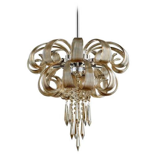 Cyan Design Cyan Design Cindy Lou Who Cognac Pendant Light 05945
