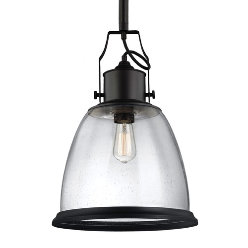 Feiss Lighting Feiss Hobson Oil Rubbed Bronze Pendant Light P1356ORB