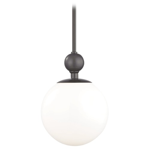 Hudson Valley Lighting Mid-Century Modern Pendant Light Bronze Mitzi Daphne by Hudson Valley Lighting H118701L-OB
