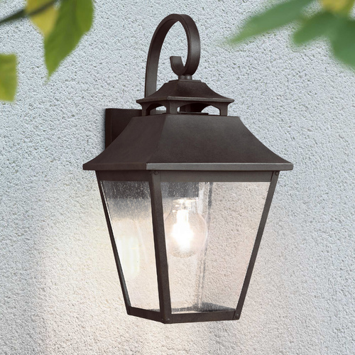Feiss Lighting Feiss Lighting Galena Sable Outdoor Wall Light OL14402SBL