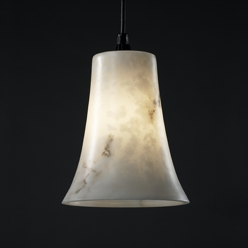 Justice Design Group Justice Design Group Lumenaria Collection Mini-Pendant Light FAL-8817-20-DBRZ