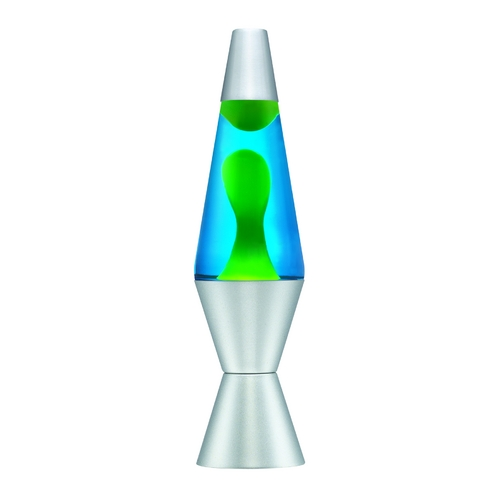 Schylling Lighting Yellow & Blue Lava Lamp - 11.5 Inches Tall LL11-YW/BL