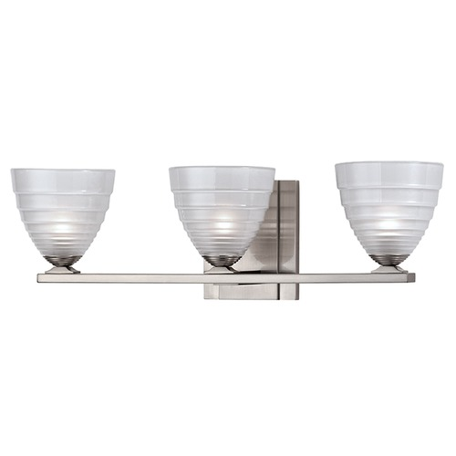 Hudson Valley Lighting Slaton 3 Light Bathroom Light - Satin Nickel 1443-SN