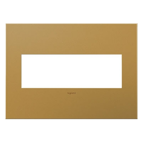 Legrand Adorne Legrand Adorne Satin Bronze 3-Gang Switch Plate AWC3GSB4