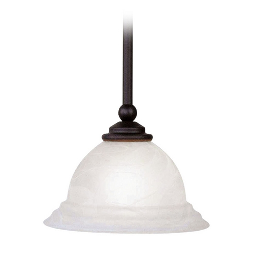 Livex Lighting Livex Lighting North Port Black Mini-Pendant Light 4256-04
